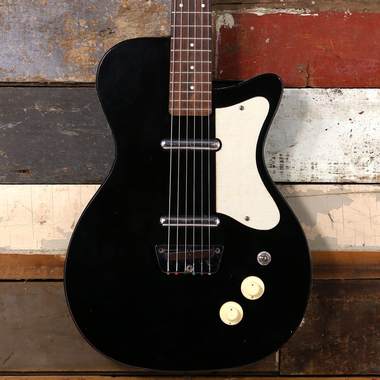 1959 Silvertone U2 Black Danelectro ...