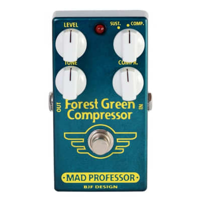 Mad Professor Forest Green Compressor for sale