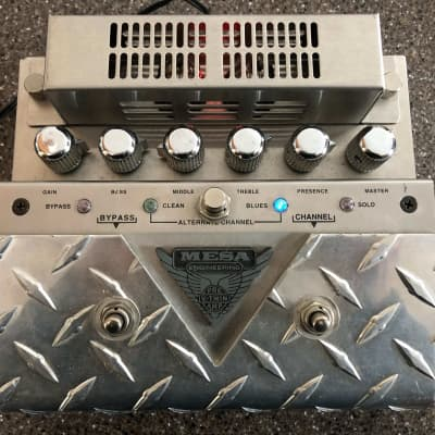Mesa  V-Twin Tube Preamp Pedal with Factory modified footswitchable Clean/Blues