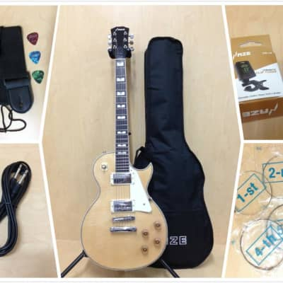 Haze 238 A/N Electric Guitar,Solid Mahogany Body w/Flame Maple Veneer+Free Bag for sale