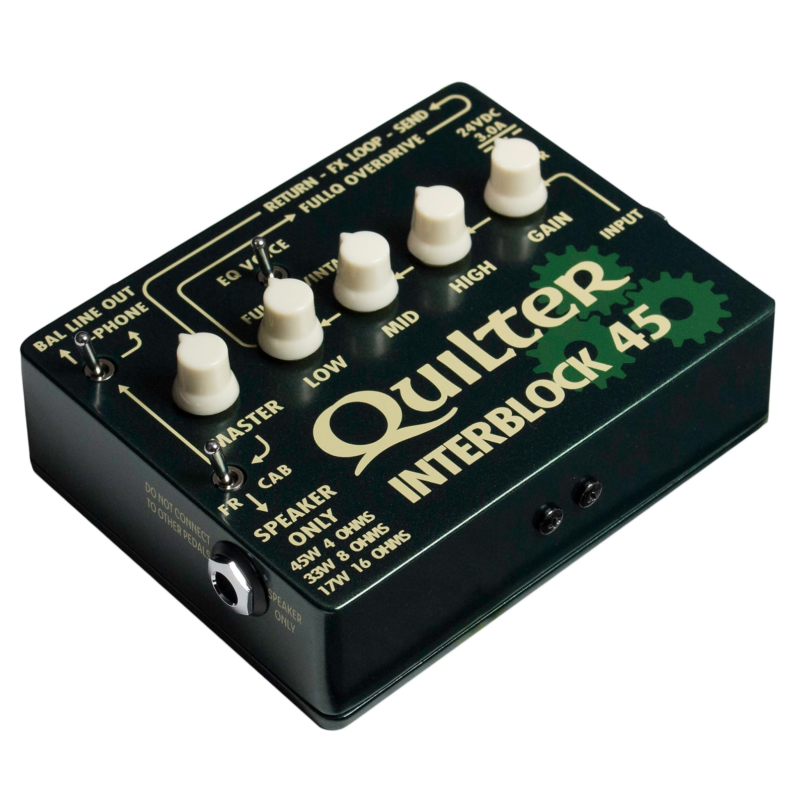 Quilter InterBlock 45 Pedal Sized 45W Guitar Amplifier Head