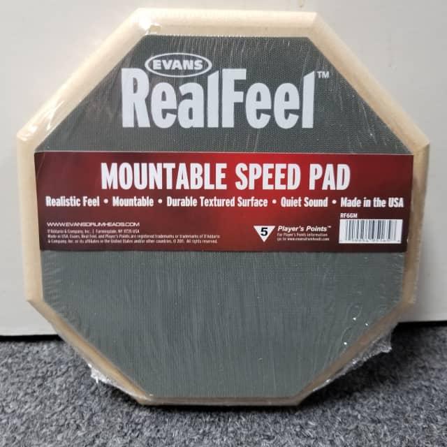 Evans Rf6gm Mountable Speed Drum Pad image