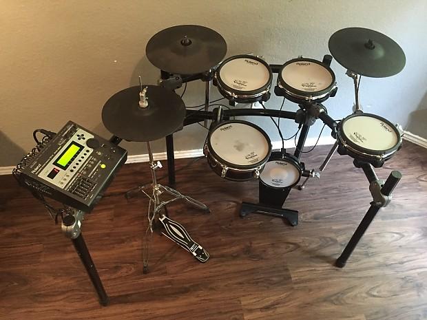 Roland td 12 v drum digital drum set kit excellent used reverb - Roland hd3 v drum lite set ...