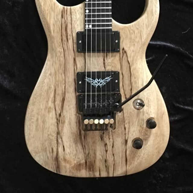 "Black Diamond USA Custom shop ""GANDALF"" guitar w/cs (Strat/RG styled) image"