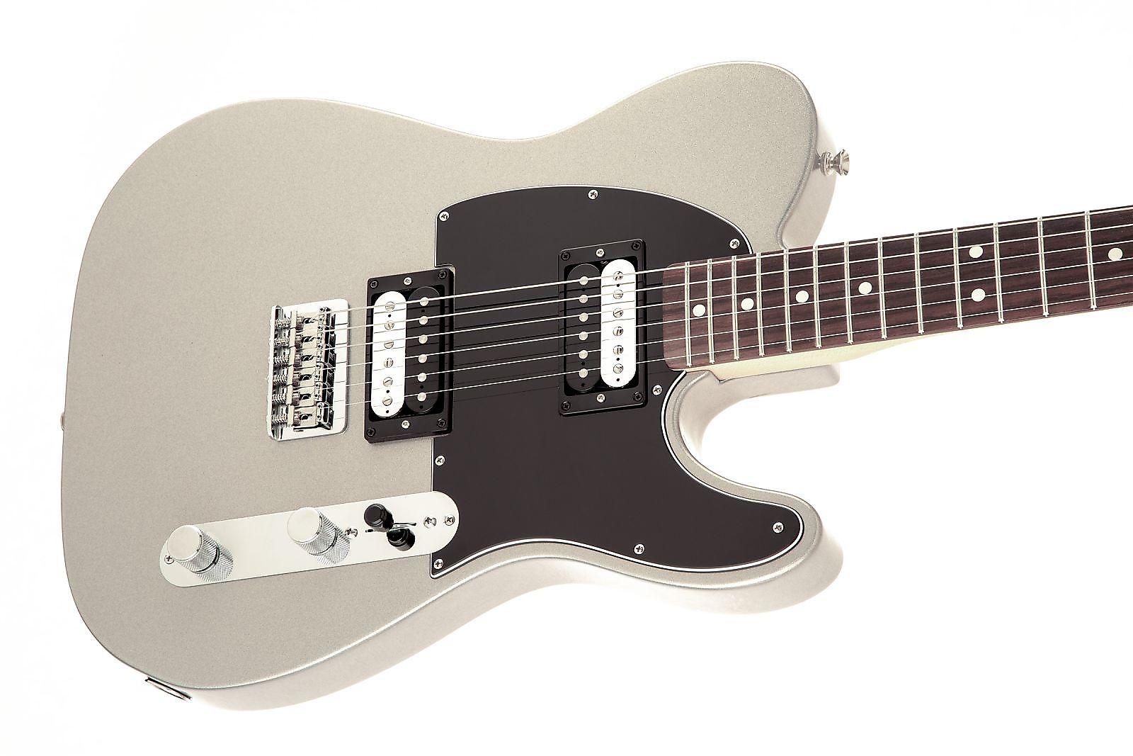 fender standard telecaster hh ghost silver 2016 reverb. Black Bedroom Furniture Sets. Home Design Ideas