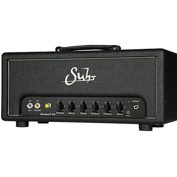 suhr badger 30 electric guitar amplifier amp head 30 watt reverb. Black Bedroom Furniture Sets. Home Design Ideas
