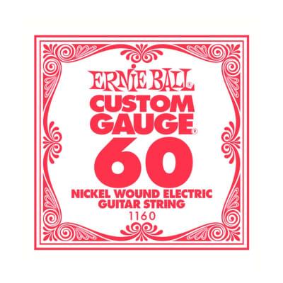 Ernie Ball Nickel Wound Single String 060