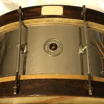 Duplex 1920's/30's Aluminum Snare Drum