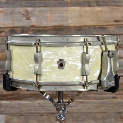 """WFL No. 900 Buddy Rich Super Classic 5.5x14"""" 8-Lug Snare Drum with P-87 Strainer 1948 - 1959"""