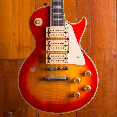 Gibson Custom Les Paul Custom 1974 Sunburst Ace Frehley 2012 #23 - 40 aged and signed for sale