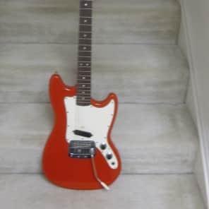 Fender Bronco 1968 nitro red finish for sale