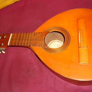Vintage Rare Miguel Angel S.L. BANDURRIA AGUSTIN GASPAR CEBRIAN Flamenco Guitar Project As Is! U Fix for sale
