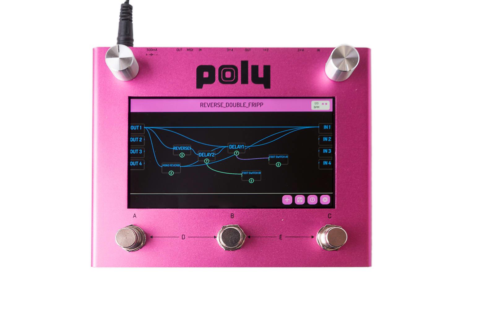 Poly Digit - Quad Delay, Reverb, Mixer, Cab Sim.