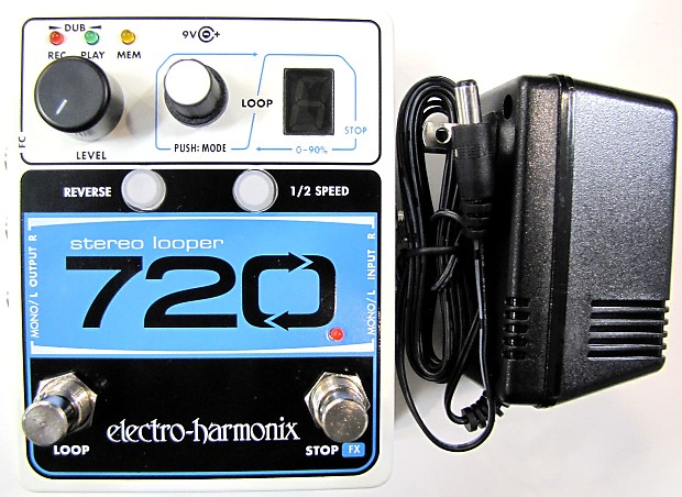 used electro harmonix ehx 720 stereo recording looper guitar reverb. Black Bedroom Furniture Sets. Home Design Ideas