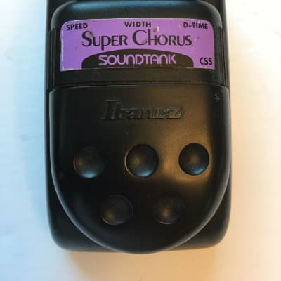 Ibanez CS5 Soundtank Super Analog Chorus Rare Guitar Effect Pedal MIJ Japan