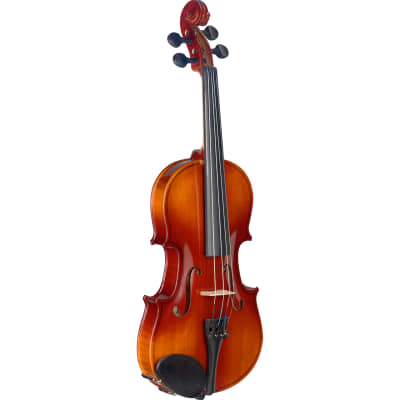 Stagg VN-1/2-L 1/2-Size Solid Spruce Top Violin with Soft Case