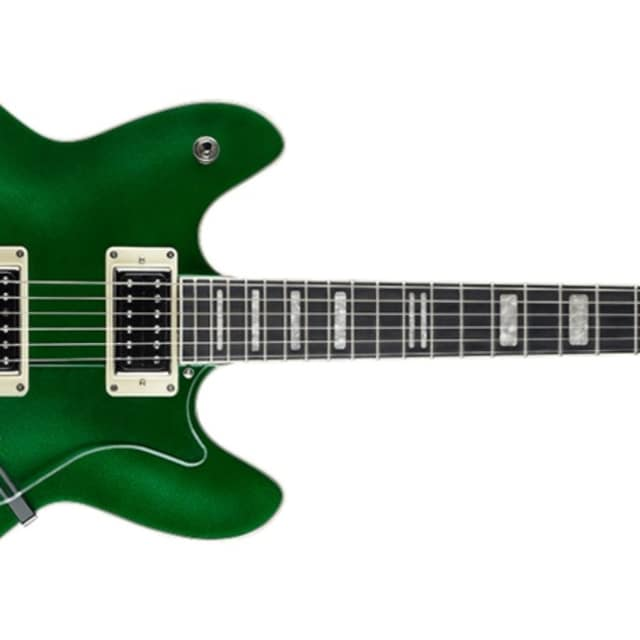 Hagstrom Viking Custom Deluxe Limited Edition Emerald Green w/MBT Hardshell Case image