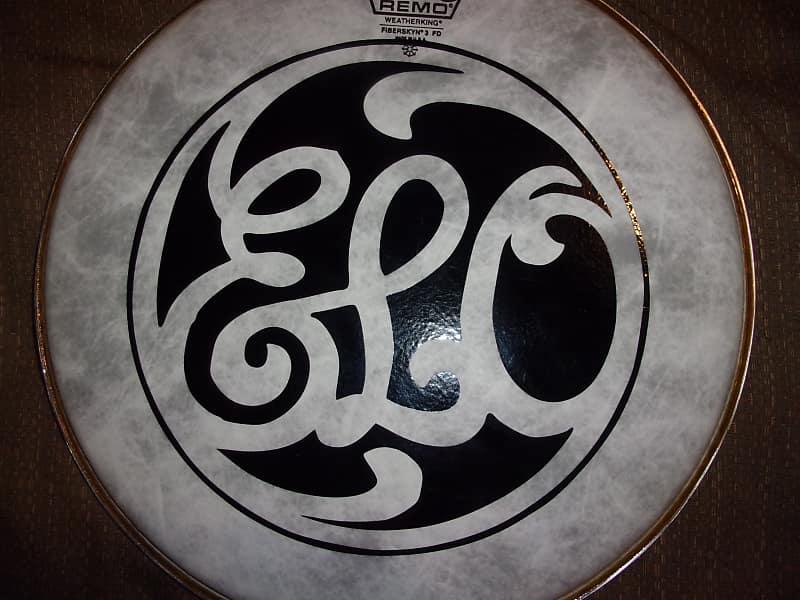 ELO Electric Lights Orchestra Band Logo Black Design On A