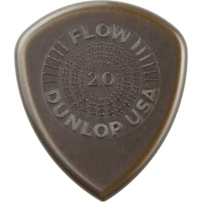 Dunlop 549P88 Flow Standard Grip .88mm Guitar Picks (6-Pack)