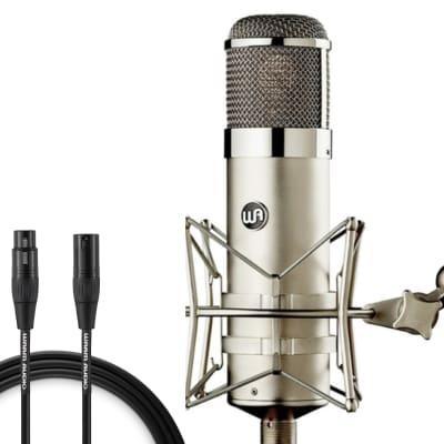 Warm Audio WA-47 Large Diaphragm Multipattern Tube Condenser Microphone w/ Warm Audio Pro Series XLR 10' cable