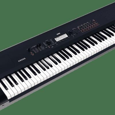 Korg KROSS 2 88 88-Key Synthesizer Workstation 2019 Black satin