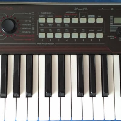 Korg R3 portable synthesizer with  vocoder