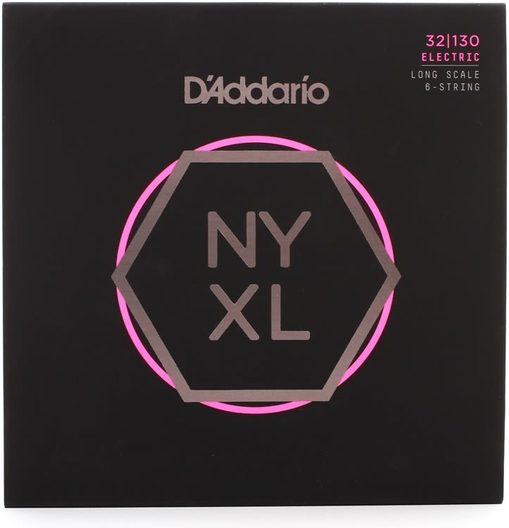 D'Addario NYXL32130 Nickel-wound Bass Strings .032-.130 ...