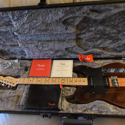 Fender Exotic Series FSR Limited Edition Malaysian Blackwood Telecaster P90's for sale