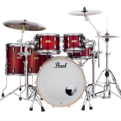 Pearl Session Studio Select Series 5pc Shell Pack w/22 Bass - Antique Crimson Burst