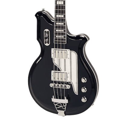Airline Map Bass - Black for sale