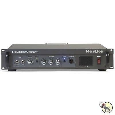 Hartke LH500 500-Watt Bass Guitar Amplifier Head Class-A Tube Preamp Circuit amp for sale