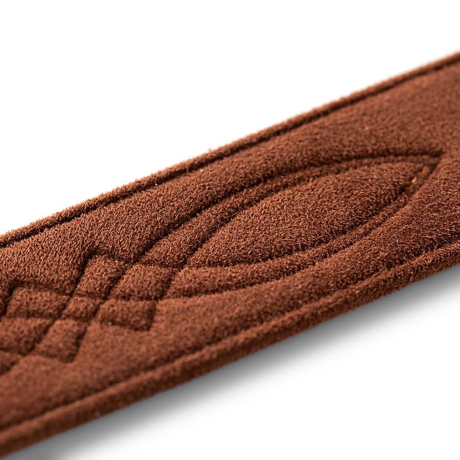 Taylor Strap, Vegan Leather, Medium Brown, 2