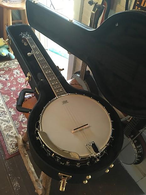recording king rk r20 5 string banjo with hardshell case reverb. Black Bedroom Furniture Sets. Home Design Ideas