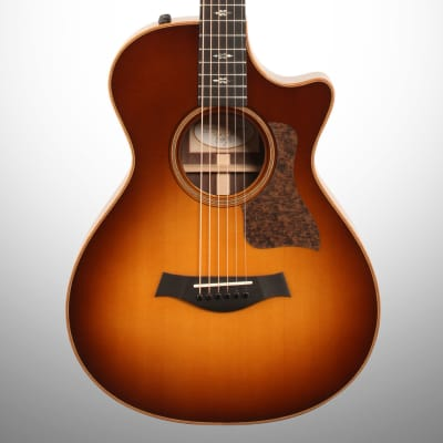 Taylor 712ce 12-Fret Grand Concert Acoustic-Electric Guitar (with Case), Western Sunburst