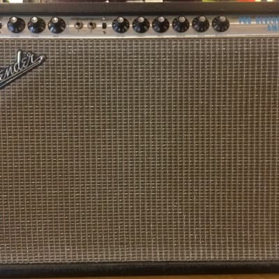 "1969 Fender Pro Reverb-Amp Silverface 2 x 12"" 40-Watt Tube Electric Guitar Combo Amplifier"