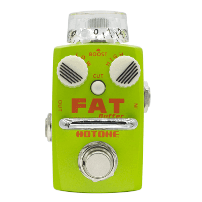 Hotone Skyline Fat Buffer/Preamp 2019s Green for sale