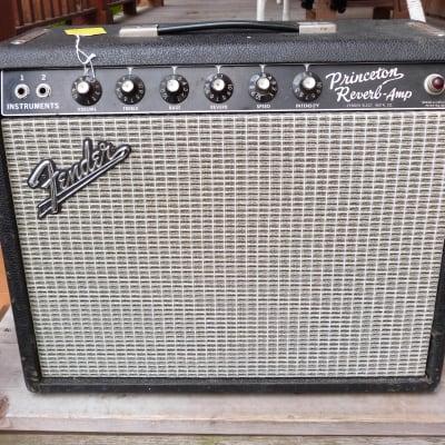 Fender Princeton Reverb black panel  1965 for sale