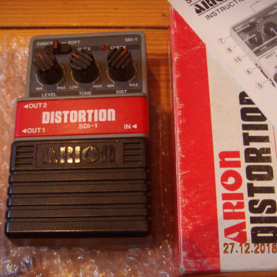 Arion SDI Distortion 1980's Grey for sale