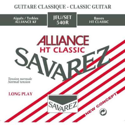 Savarez 540R Alliance HT Classic Normal Tension Classical Guitar Strings