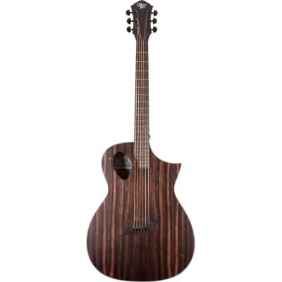 Michael Kelly Forte Exotic Java Ebony guitare folk électro-acoustique avec technologie Port for sale