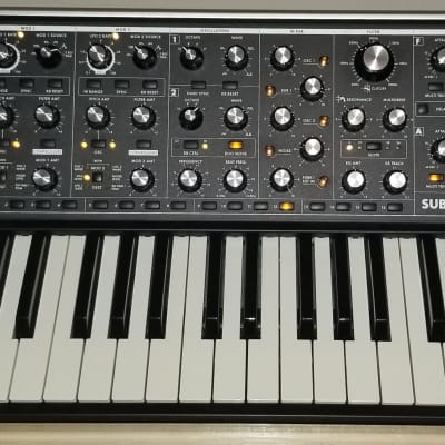 Moog Sub 37 Tribute Edition with Case