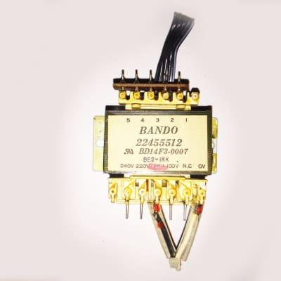 Roland D-20 D-10 Original Power Transformer BANDO 22455512. Works Great !
