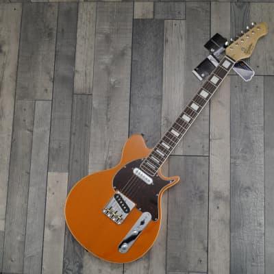 Revelation TTX DB Electric Guitar, Trans Orange for sale
