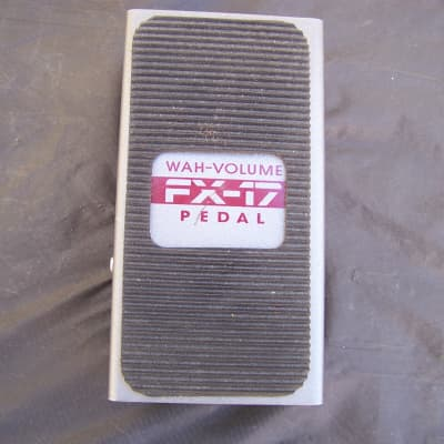 DOD FX-17 Wah-Volume Pedal 2000s? Gray for sale