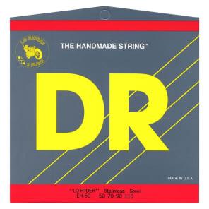 DR MH5-45 Lo Rider 5-String Bass Strings - Medium (45-125)