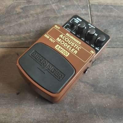 Behringer AM 100 Acoustic Modeler Effects Pedal for sale