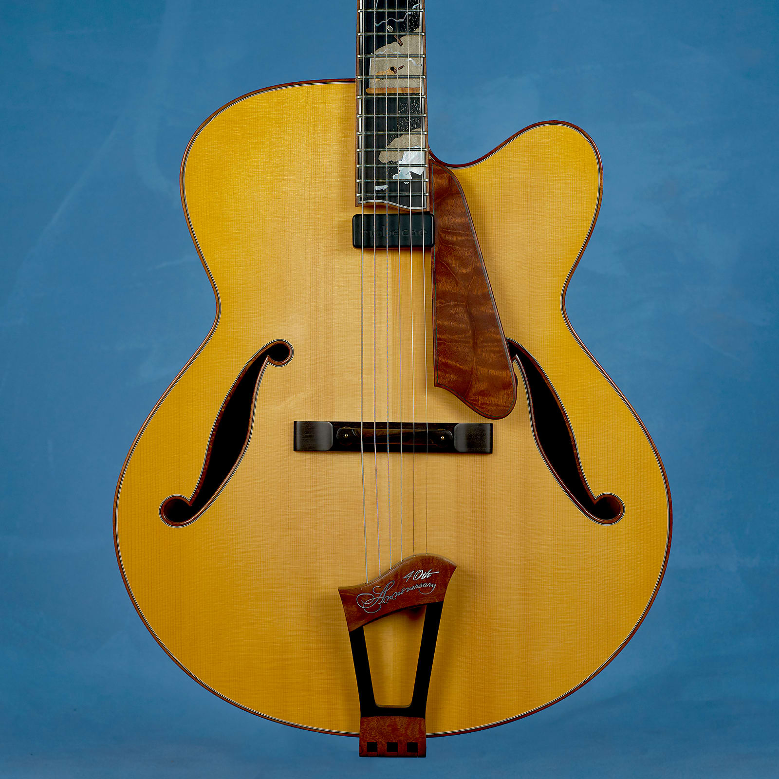 "Ribbecke 40th Anniversary 18"" Archtop 2013"