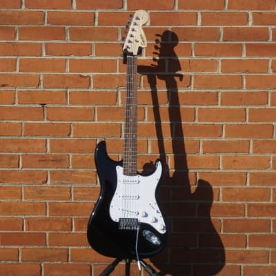 NEW 2020 Squier Affinity Series Stratocaster Black Electric Guitar for sale