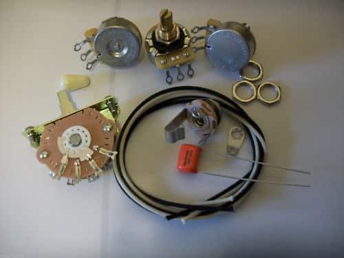 300k volume wiring harness upgrade kit for stratocaster cts reverb. Black Bedroom Furniture Sets. Home Design Ideas