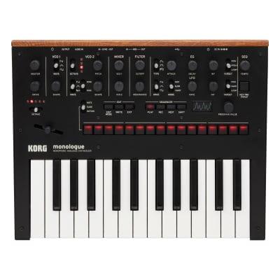 Korg Monologue Analog Synthesizer - Black